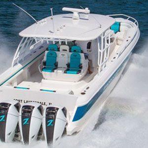Marine outboard logo
